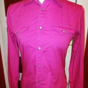 Vintage Pearl Snap Slim Fit Western Shirt 4